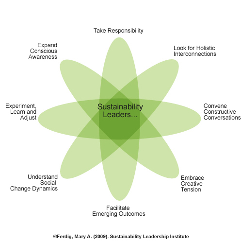 Sustainability Leadership Relational Model